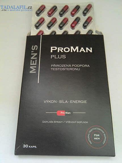 ProMan Plus se vyrábí v podobě kapslí.