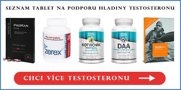 Testosteronové tablety cena a prodej