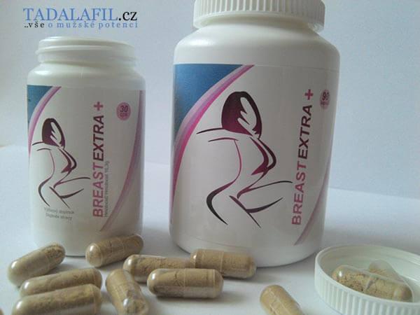 BreastEXTRA: 2 balení (30 a 90 kapslí)