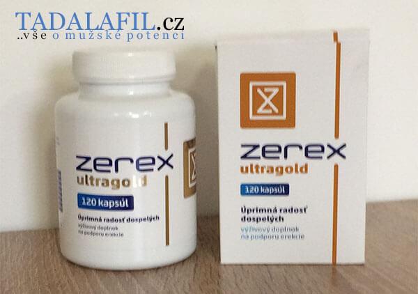Pilulky Zerex Ultragold jsou oblíbené mezi muži po 40