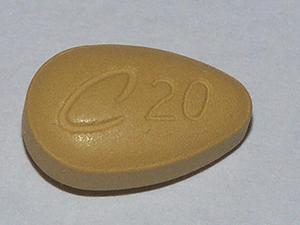 Cialis tabletka