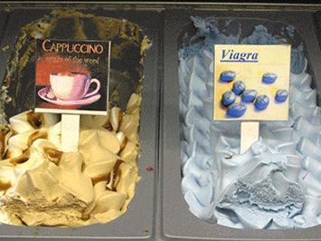 Viagra ve formě zmrzliny