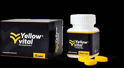 Prášky Yellow vital