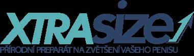 Logo přípravku XTRASIZE, který má údajně zvětšit penis o 7,5 cm