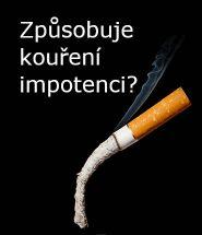 Způsobuje kouření impotenci?